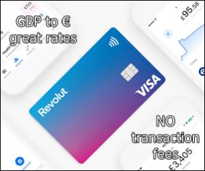 Revolut card great rates no fees